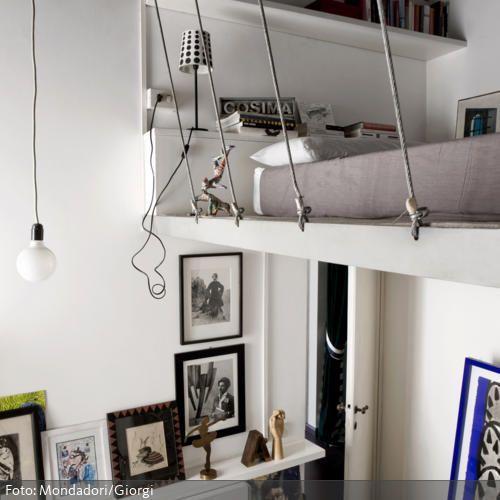 21 best idee arredo images on Pinterest Chairs, Chevron bedroom - hochbetten erwachsene kleine wohnung
