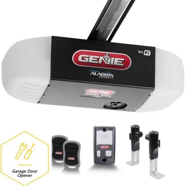 How To Program Your Genie Garage Door Opener Remote Control Garage Door Opener Best Garage Doors Garage Doors