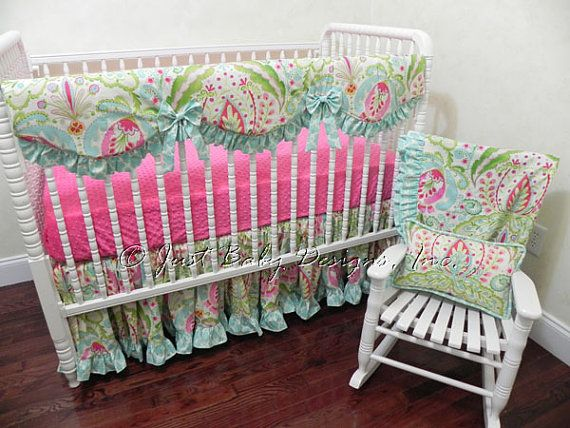 24 best Custom Baby Bedding New Fabrics images on ...