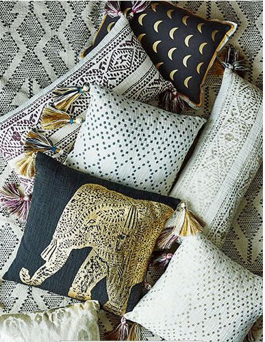 Anthropologie new arrival home decor - pillows #anthrofave