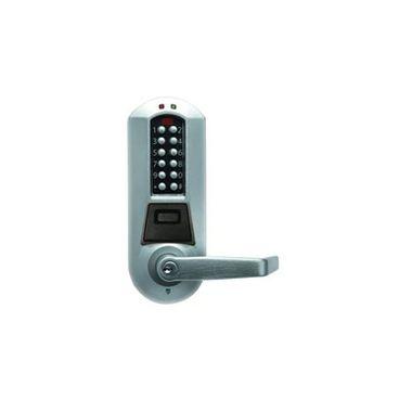 Kaba E-Plex E5700 Series E5710XSWL-626-41 Exit Trim Schlage C Lever Electronic Lock