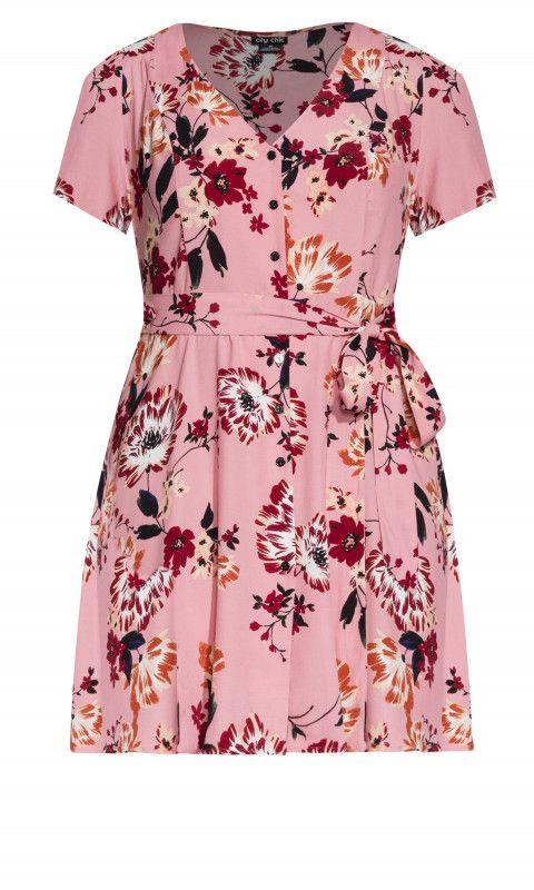 b43c333cb26 Shop Women s Plus Size Botanical Dress - blush - Street Style - Collections