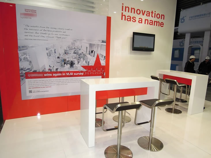 Exhibition stand by Teeyoo Expo China made with Norse fasteners delivered by Easy-Click Systems. picture 3