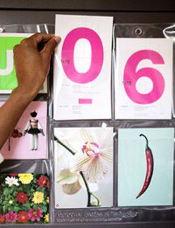 DIY Calendar for each year - Kalender voor elk jaar. Kijk op www.101woonideeen.nl