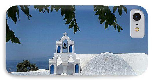 Santorini Greece Phone Case
