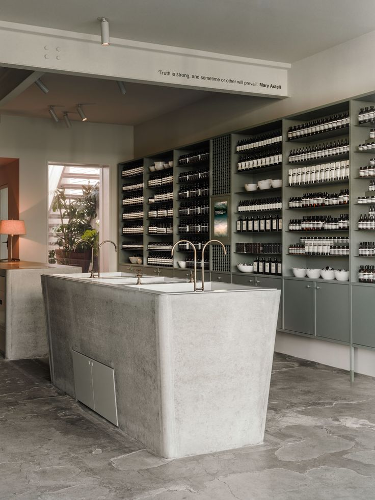 Aesop Store in Fitzroy, Melbourne by Clare Cousins Architects   Yellowtrace