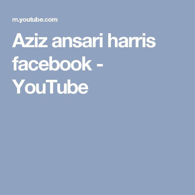 Aziz ansari harris facebook - YouTube