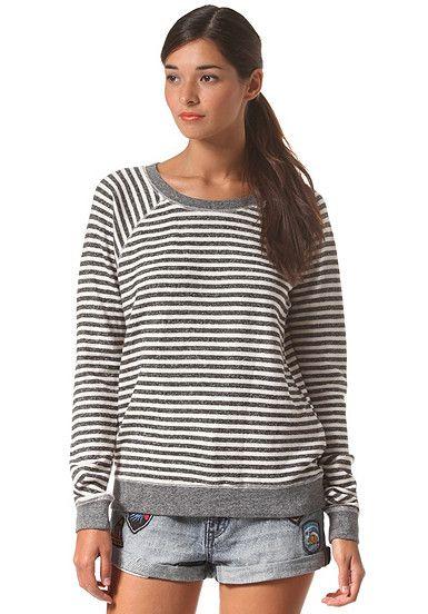 VOLCOM Hideaway - Sweatshirt für Damen - Schwarz - Planet Sports