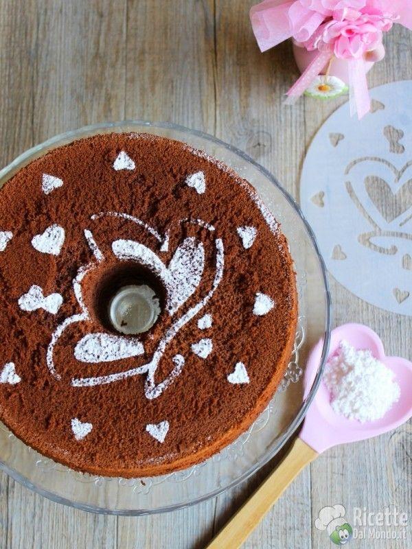 Come fare la chiffon cake al cioccolato