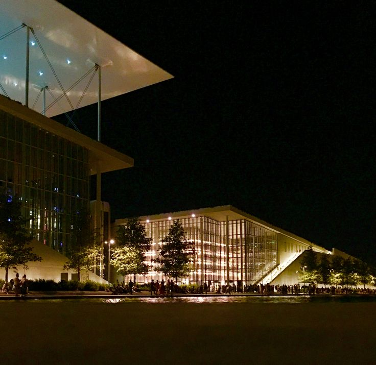 Stavros Niarchos Foundation - Building Architecture