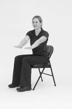 17 Best images about Arm Chair Exercises on Pinterest ...