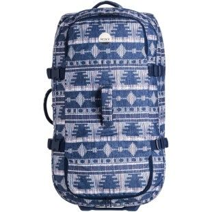 Roxy Long Haul Womens Luggage Bag - Blue
