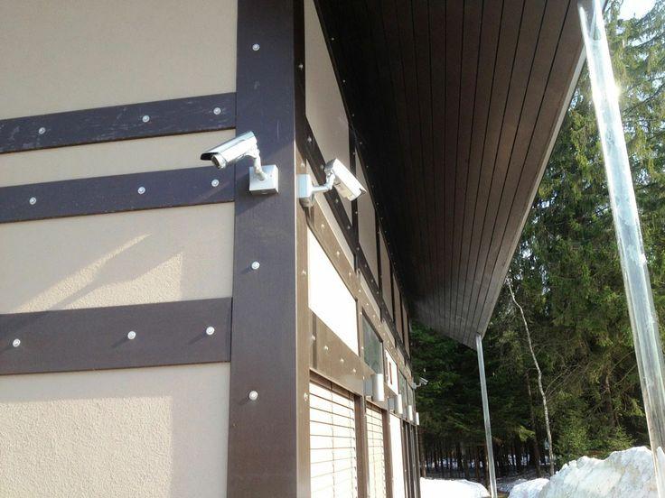 Наружные IP-видеокамеры загородного дома