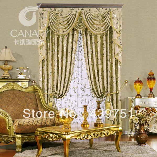 barato de luxo de alta qualiry cortinas para as janelas cortina blecaute para bege sol