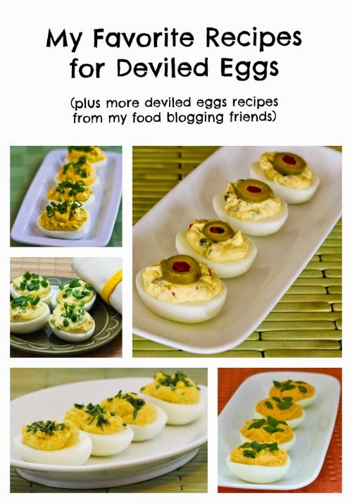 My Favorite Recipes for Deviled Eggs (plus deviled eggs recipes from my food blogging friends)