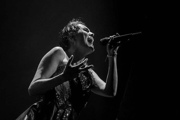 Sharon Janny den Adel of Within Temptation by Eric Brisson