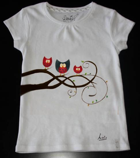 Mejores 290 im genes de camisetas pintura de tela en - Pintura para camisetas ...
