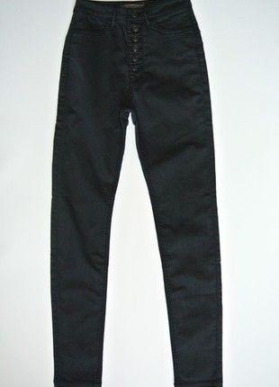Kup mój przedmiot na #vintedpl http://www.vinted.pl/damska-odziez/rurki/13517857-spodnie-granatowe-pull-bear-34-nowe