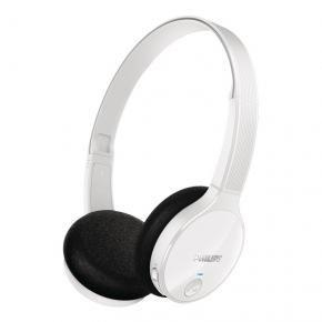 Diseño limpio y elegante! Disfruta de sonido natural y equilibrado con controladores de neodimio 32 mm ¿Buscas unos auriculares que te ofrezcan una calidad de sonido más realista y equilibrada? Philips Shb-4000wt Bluetooth Blanco