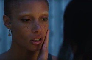 "Adwoa Aboah as Lia in ""Ghost in the Shell""."