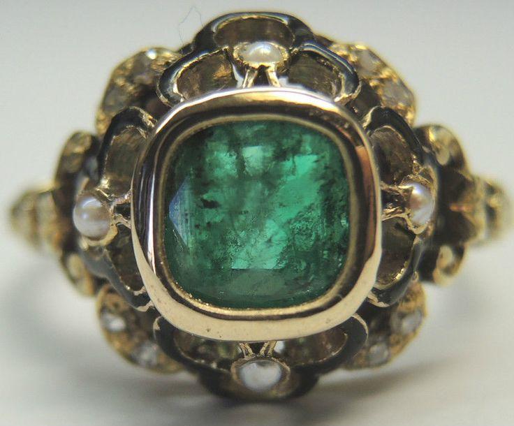 Antique Roadshow Yellow Diamond Ring