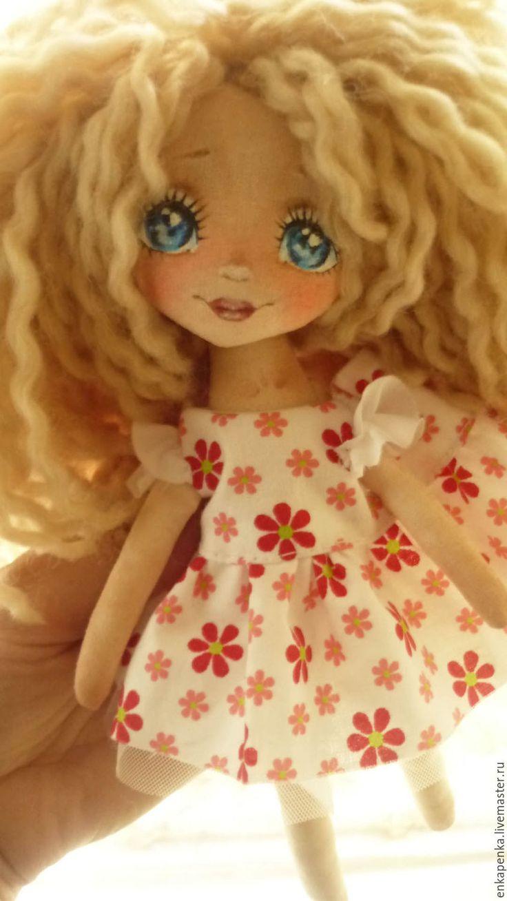 Купить Текстильная кукла. Аленушка - комбинированный, кукла ручной работы, кукла в подарок, подарок