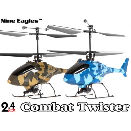 Nine Eagles 210A Combat Twister 4 CH Battle RC Helicopter