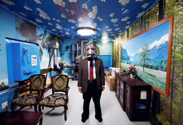 Photo of the Week: How to Transform Your Nuclear Bunker Into Paradise