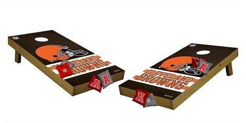 Wild Sports NFL Cleveland Browns Wild Sports Tailgate Toss Cornhole Shields
