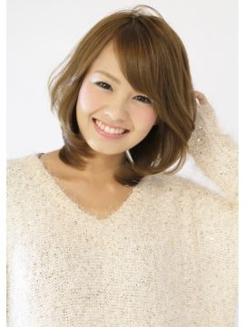 【gosso】ひし形ミディアム - 24時間いつでもWEB予約OK!ヘアスタイル10万点以上掲載!お気に入りの髪型、人気のヘアスタイルを探すならKirei Style[キレイスタイル]で。
