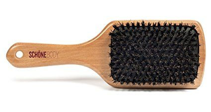 Boar bristle brushes are great for spreading oils from the crown to the tip. I also experience a lot of the plastic tines break on the brushes too. I'm so glad I don't have to deal with that any more! Boar bristles also make your hair shiny.