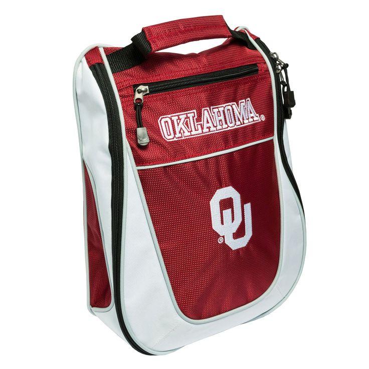 Team Golf Oklahoma Sooners Golf Shoe Bag, Multicolor