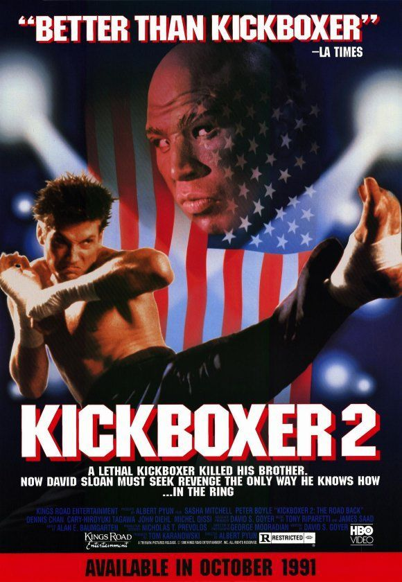Kickboxer 2 The Road Back 1991 Moviemeter Nl Best Action Movies Streaming Movies Online Martial Arts Film