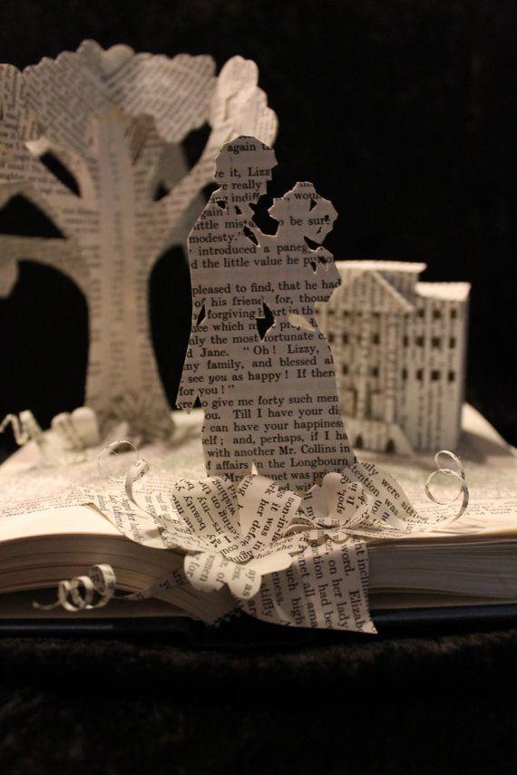 Pride and Prejudice Book Sculpture