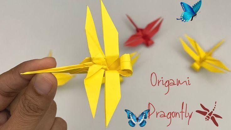 Dollar Bill Dragonfly | Dollar origami, Origami dragon, Dollar ... | 414x736