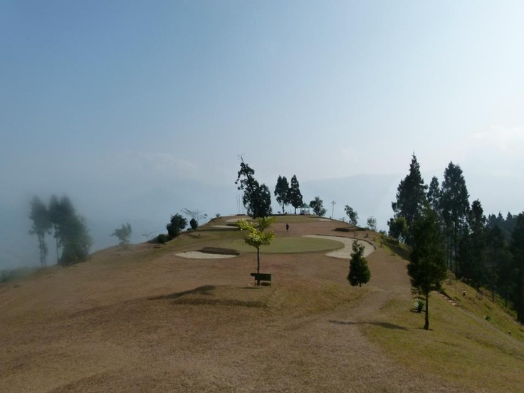 kalimpong army golf course.