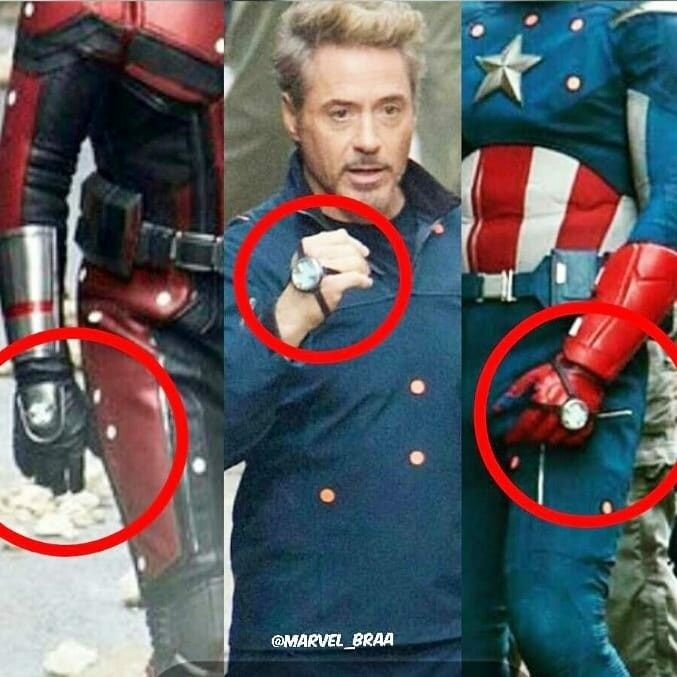 Avengers 4 Time traveling machine Why're they going back to the battle of New York?! Why?! Is it to save cap? Tony looks old but Steve looks the same no beard no dark hair?! Steve dies I swear this confirms it