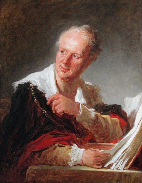 Figure de fantaisie autrefois désignée à tort comme Denis Diderot, 1769.