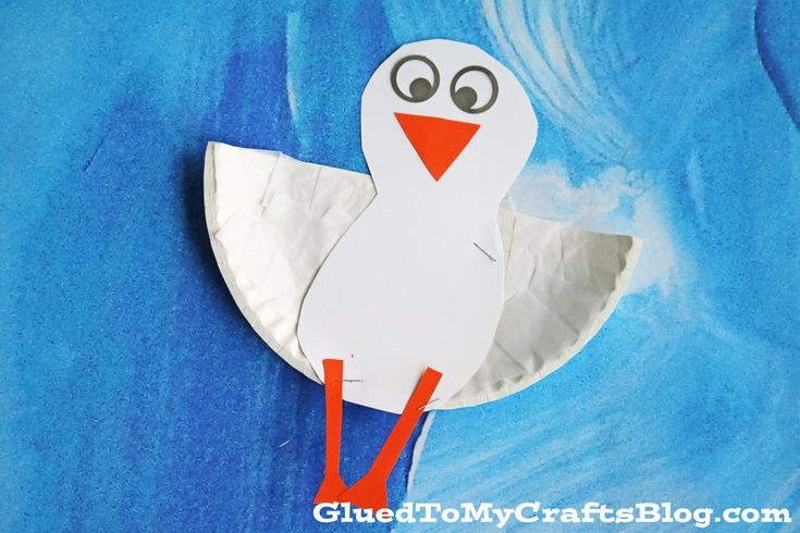 """Inspired by warmer weather and our upcoming move to Florida – today's Paper Plate Seagull kid craft idea is """"squawking"""" to be made! Perfect as a summer themed craft or even an ocean themed school series in school – this simple craft idea is budget friendly, super simple and of course fun for ALL ages! Make a …"""