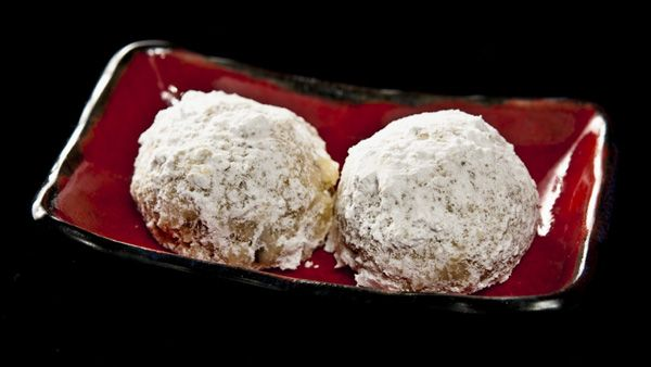 Wild black walnut snowball cookies - just like regular tea cakes, but ...