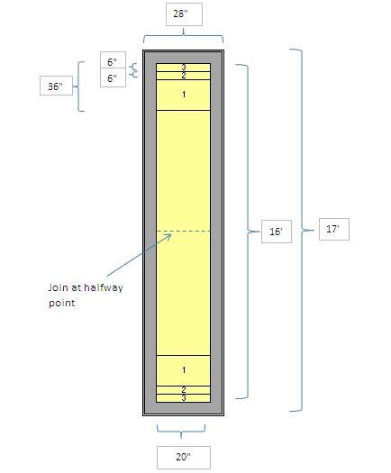 Shuffleboard Playing Surface Measurements