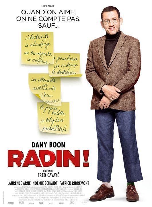 """♥♥♥ """"Radin !"""", une comédie de Fred Cavayé avec Dany Boon, Laurence Arné, Noémie Schmidt... (09/2016)"""
