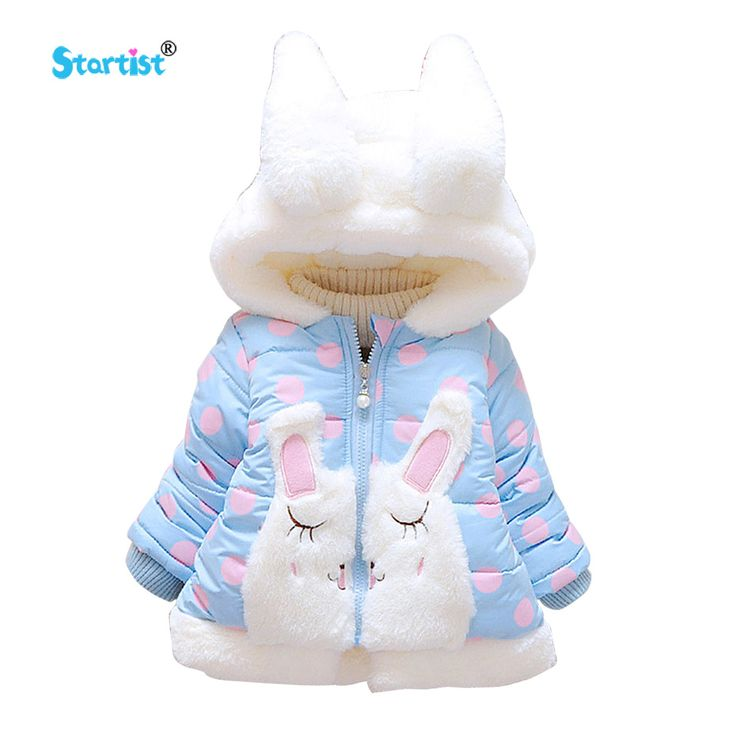 Awesome Startist Baby Jackets Coat Autumn Winter Cute Rabbit Infant Newborn Coats &Outwear Thick Warm Toddler Baby Girl Clothes Costume - $33.66 - Buy it Now!