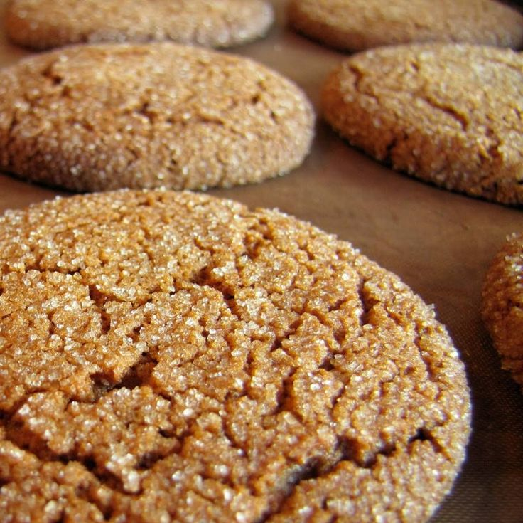 These are just what they say: big, soft, gingerbread cookies. They stay soft, too. My oldest son's favorite. Ingredients 2 1/4 cups all-purpose flour 2 teaspoons ground ginger 1 teaspoon baking soda 3/4 teaspoon ground cinnamon 1/2 teaspoon ground cloves 1/4 teaspoon