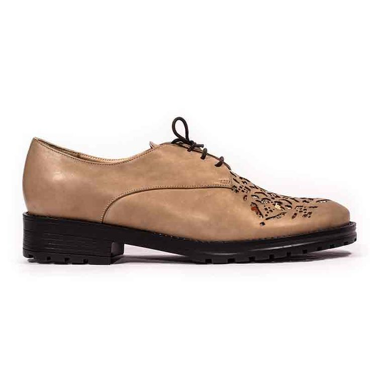 Casual derby shoes inspired by Persian culture. Made from natural leather…