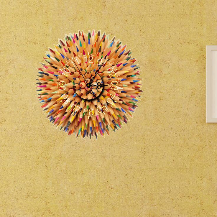 57 best 3D Clock Wall Sticker 2 images on Pinterest | Clocks, Walls ...