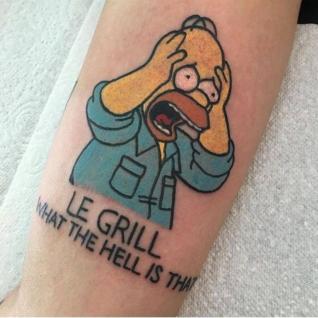 11 best mr burns images on pinterest simpsons tattoo for Homer simpson tattoos