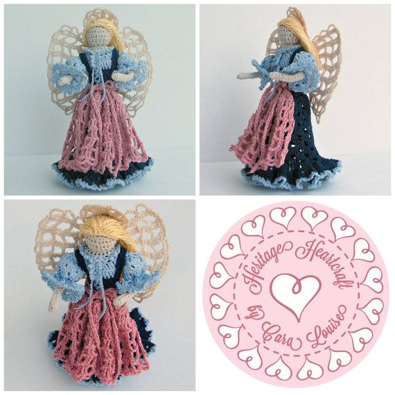 Adorable small Angel with a bit of German by HeritageHeartcraft