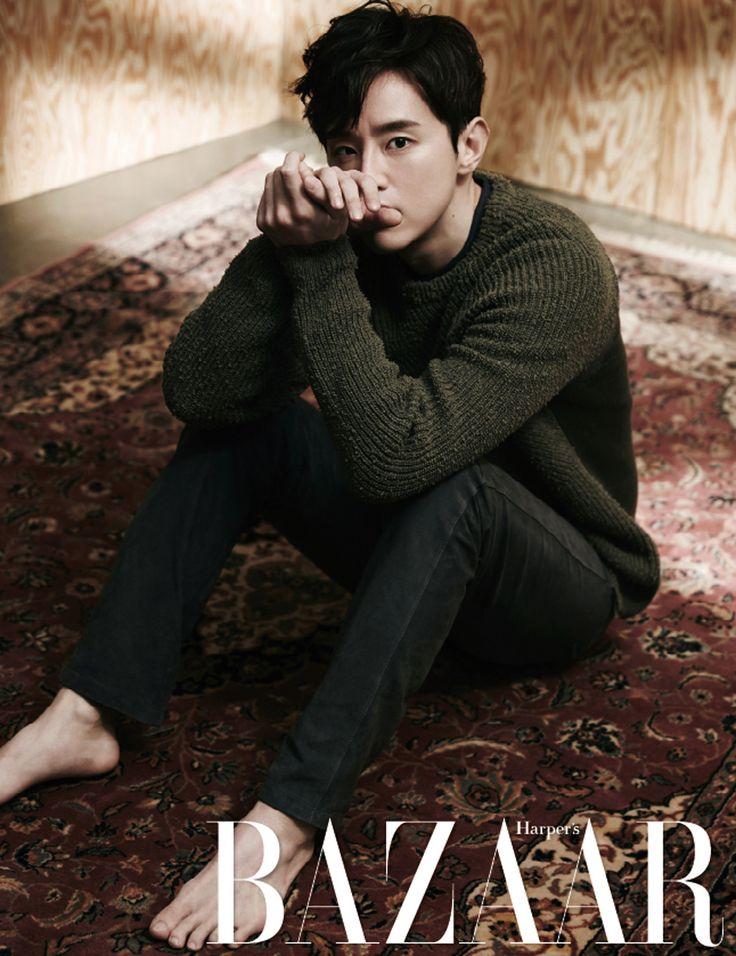 Kwon Yool - Harper's Bazaar Magazine April Issue '16
