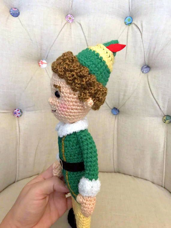 Christmas Crochet Elf Doll Amigurumi Patterns | 760x570